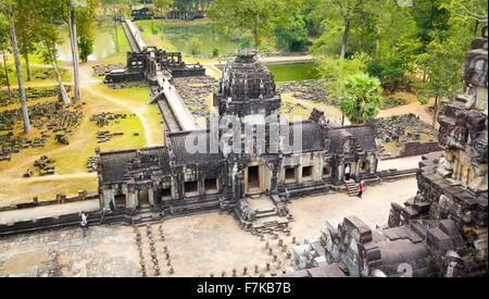 Baphuon Temple, Angkor Thom, Cambodia, Asia - Stock Photo