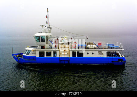 Spirit of the Tyne ferry boat on River Tyne between North Shields and South Shields - Stock Photo