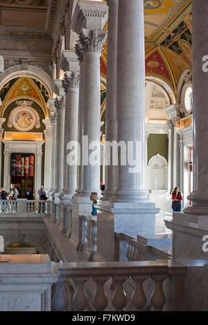 Washington, DC - The Thomas Jefferson Building of the Library of Congress. - Stock Photo
