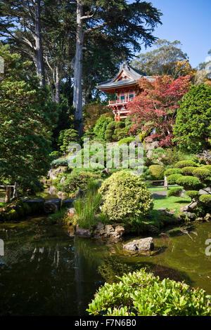 California San Francisco Japanese Tea Garden In Golden Gate Park Stock Photo Royalty Free