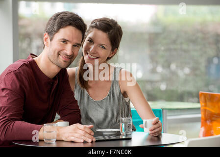 Couple spending quality time together - Stock Photo