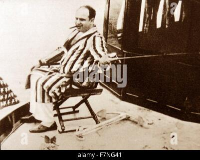 Alphonse Gabriel 'Al' Capone (/æl kəˈpoʊn/; January 17, 1899 – January 25, 1947) was an American gangster who attained - Stock Photo