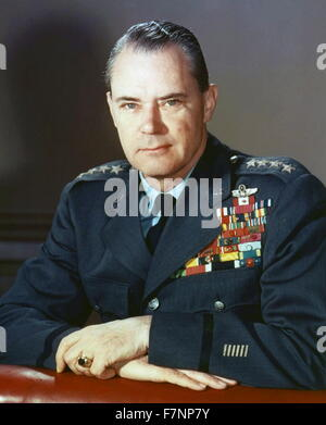 Hoyt S. Vandenberg (1899 – 1954). Air Force general, Chief of Staff, and second Director of Central Intelligence. - Stock Photo