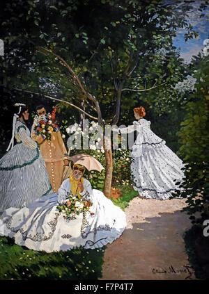 Wonderful Femmes Au Jardin   Women In The Garden   1866 Claude Monet 1840   1926  French Images