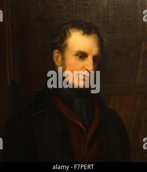 Portrait of Arthur Wellesley, 1st Duke of Wellington (1769-1852) by Andrew Morton (1802–1845) British artist. Dated - Stock Photo