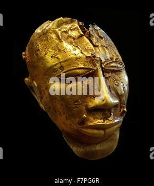 Part of the Treasure of Kofi-Karikari, King of Ashanti, present-day Ghana - Stock Photo