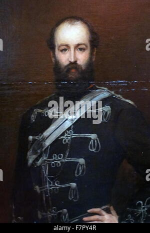 Nathan Mayer Rothschild, 1st Baron Rothschild, Baron de Rothschild, Bt, (8 November 1840 – 31 March 1915), was a - Stock Photo