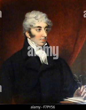 Isaac D'Israeli (11 May 1766 – 19 January 1848) was a British writer, scholar and man of letters. He is best known - Stock Photo