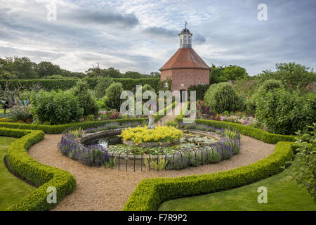 The dovecote in the walled garden at felbrigg hall for 7194 garden pond