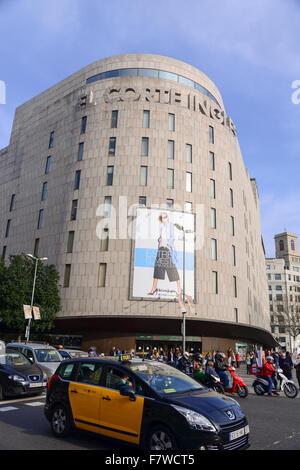 El corte ingles department store avenida tres de mayo santa cruz stock photo royalty free - El corte ingles stores ...