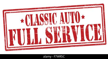 Full service - Stock Photo