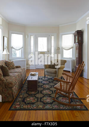 Arc Main Reception Room Living Parlor With View Of Front Entrance Portrait