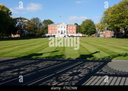 Warrington Town Hall, administrative centre for Warrington, Cheshire. - Stock Photo