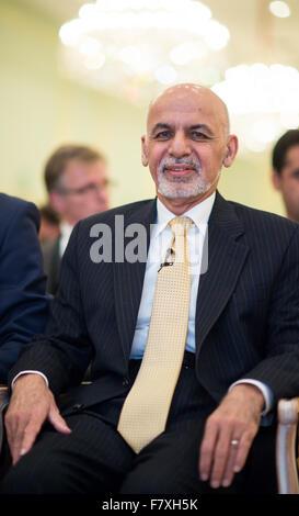 president afghanistan 2015