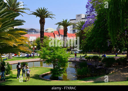 Zoo Park in downtown Windhoek, Namibia - Stock Photo