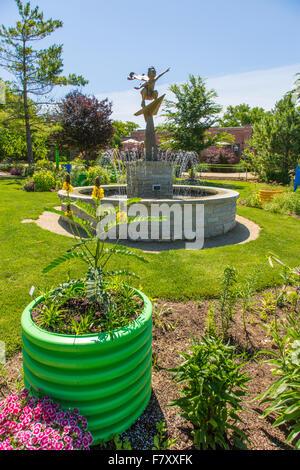 ... Nancy Yahr Memorial Childrenu0027s Garden At Rotary Botanical Gardens In  Janesville Illinois   Stock Photo