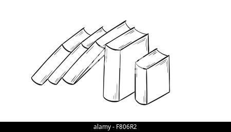 set of the books - Stock Photo