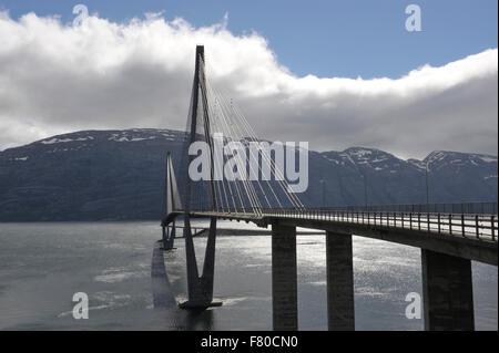 helgelandsbrua, alstahaug, nordland, norway - Stock Photo
