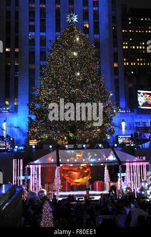 83rd Rockefeller Center 2015 Tree Lighting Ceremony in New York on December 02 2015/ & 2015 Rockefeller Center Tree Lighting in New York City Featuring ...