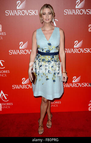 18th Annual Accessories Council ACE Awards at Cipriani Wall Street - Red Carpet Arrivals  Featuring: Ivanka Trump - Stock Photo