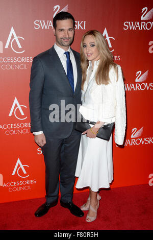 18th Annual Accessories Council ACE Awards at Cipriani Wall Street - Red Carpet Arrivals  Featuring: Guest Where: - Stock Photo