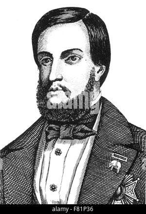 EMPEROR PEDRO II OF BRAZIL (1825-1891) - Stock Photo