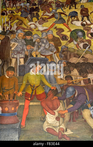 diego rivera mural mexico history perspective the