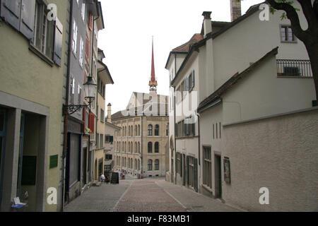 Zuerich, Schweiz. - Stock Photo