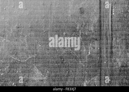 Print marks on monochromatic digital printed texture of poster paper, inkjet printing technology background. - Stock Photo