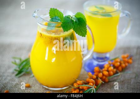 how to make sea buckthorn juice