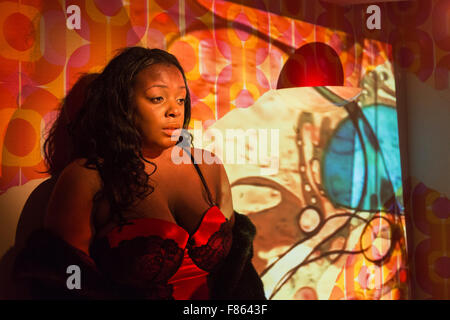 Melissa Madden as Althea. Photocall for the play ELECTRIC at the Rio Cinema in Dalston. The play is produced in - Stock Photo