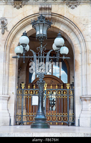 Building of the National academy of music and Grand opera in Paris - Stock Photo