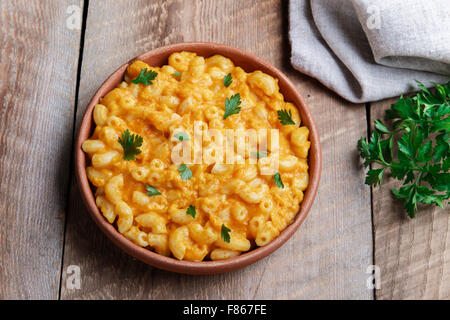 Pasta with pumpkin and cheese creamy