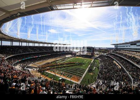 Waco, Texas, USA. 5th Dec, 2015. McLane Stadium during the NCAA football game between Texas vs Baylor at McLane Stadium in Waco, Texas. © csm/Alamy Live News Stock Photo