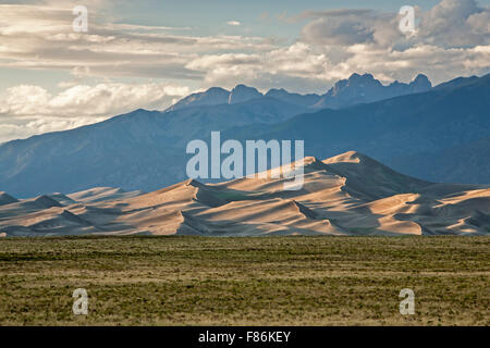 Sand Dunes And Grasses At Sunset In The Province Lands At