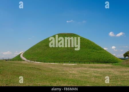 Poland Krakow. Krakus Mound - Stock Photo