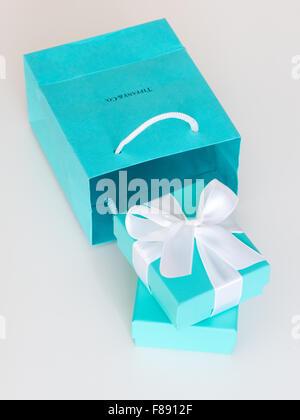 A Tiffany Blue Box little blue box from Tiffany from Tiffany Co