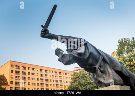 Monument to the Spanish Civil War, Berlin, Germany - Stock Photo