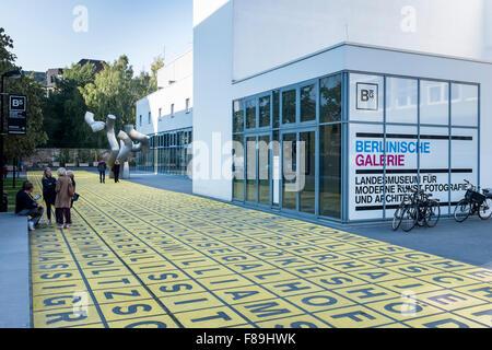 Berlinische Galerie, Berlin, Germany - Stock Photo