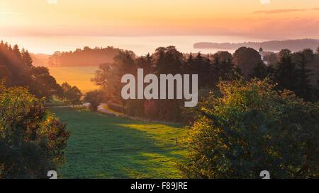 Lake Starnberg, Bavaria, Germany, Europe - Stock Photo