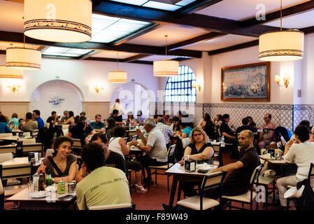 Pasteis de Belem, Lisbon, Portugal - Stock Photo