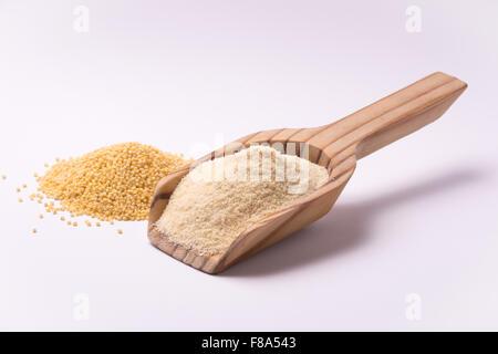 Farina di miglio - Stock Photo