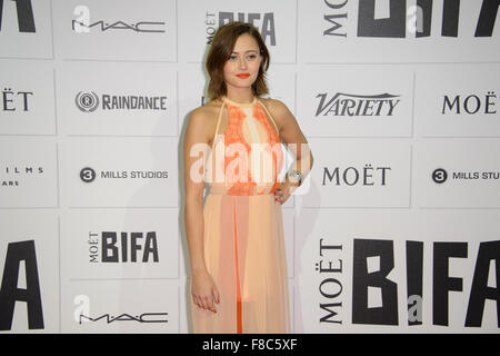 Ella Purnell at the British Independent Film Awards 2015 in London - Stock Photo