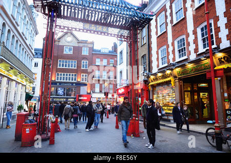 Chinatown in the Soho area of the City of Westminster in London, England, London, United Kingdom - Stock Photo