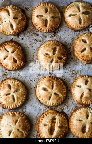 Persimmon Hand pies - Stock Photo