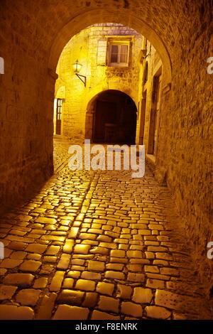 Trogir by night croatia
