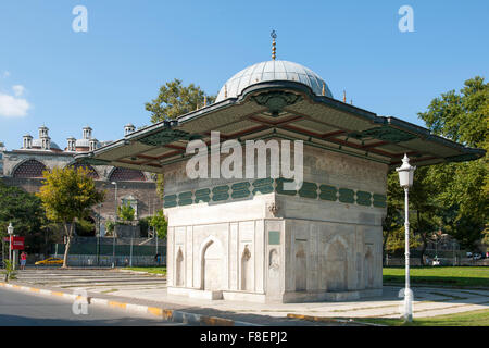 Istanbul, Tophane-Brunnen - Stock Photo