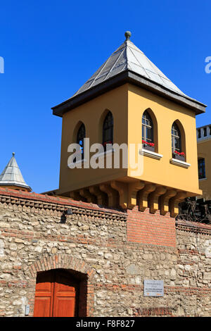 Four Seasons Hotel (old prison), Sultanahmet Square, Istanbul, Turkey, Europe - Stock Photo