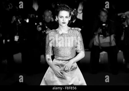 VENICE, ITALY - SEPTEMBER 5: Kristen Stewart attends the premiere of 'Equals' during the 72nd Venice Film Festival - Stock Photo