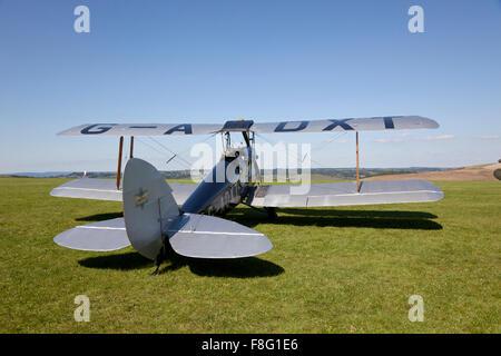 Tiger Moth G-ADXT - Stock Photo